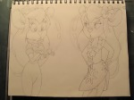 2girls bubbles flower gadget jtcartoon92 lahwhiney sketch // 1920x1440 // 674.3KB