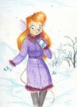 alex_fox coat gadget mittens shoes snow winter // 650x900 // 554.3KB