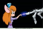 1girls electricity finger gadget hand invention lookafar robot scope // 900x623 // 197.3KB