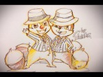 2boys acorn chip costume dale hat shinta sketch tie // 1280x960 // 301.0KB
