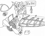 airplane battery gadget gloves invention kneeling lineart microtoon oil // 540x432 // 171.6KB