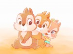 1girls 2boys baby chip clarice dale embrace flower kurokuma824 sit // 1024x754 // 44.9KB