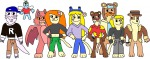 4girls 5boys chip crossover dale foxglove gadget jacobyel kim_possible kim_possible_(series) monterey_jack rufus zipper // 1630x644 // 149.8KB