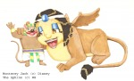 crossover egyptian_dress embrace leloni_bunny monterey_jack the_sphinx // 800x487 // 383.1KB