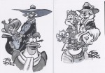 1girls 4boys chip dale gadget monterey_jack sketch tad_stones zipper // 1080x754 // 123.1KB