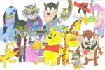 crossover darkwing_duck darkwing_duck_(series) fat_cat goof_troop monterey_jack negaduck pete sithvampiremaster tigger winnie-the-pooh // 1711x1145 // 852.3KB