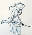 1girls agm gadget gun sketch // 512x559 // 161.0KB