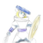 1girls angry armor gadget helmet martin_hamsy shield sketch sword // 1200x1200 // 451.4KB