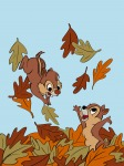 2boys chip dale fun jump leaf mcre1201 // 1536x2048 // 1.2MB