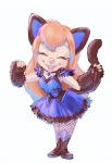 1girls cat_ears cat_paw cat_tail closed_eye cosplay dress gadget kurokuma824 pendant shoes smile thighhighs // 948x1373 // 184.1KB