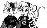 alternative_hairstyle earring embrace foxglove gadget goth nathan piercing shirt sketch // 648x399 // 84.9KB