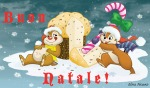 cake candy chip congratulation dale elisa_picuno santa_hat scarf sit snow snowflake tongue winter xmas // 1018x600 // 530.9KB