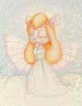 angel angel_wings charity_oliver closed_eye clouds dress gadget wings // 290x372 // 9.7KB