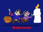 2boys candle chip cosplay crossover dale darkwing_duck darkwing_duck_(series) don_karnage fire halloween pumpkin saber talespin tomarmstrong20 // 1600x1200 // 69.0KB