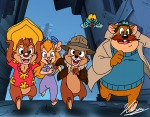 chip dale flying gadget monterey_jack neoyurin police_badge run town zipper // 2296x1800 // 1.7MB