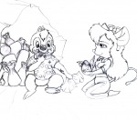 alex_fox candy chocolate dale eating food gadget kneeling mud sit sketch // 680x600 // 215.5KB