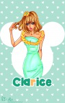 1girls clarice dress flower human_like terrystardust // 600x939 // 387.5KB