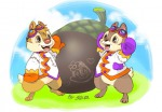 2boys acorn chip dale flower goggles heart jacket mittens picture shinta // 862x600 // 99.9KB