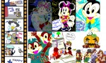 bag chip croquis dale dancer_dress donald_duck fun genie goofy halloween jump magic_lamp map mickey_mouse minnie_mouse rr_sign sit tired // 884x535 // 720.9KB