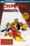 1girls 3boys chip cosplay cover crossover dale fire gadget mantarosan monterey_jack superhero superhero_suit the_fantastic_four // 556x850 // 435.1KB