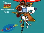 1girls 6boys chip crossover dale danger_mouse danger_mouse_(series) ernest_penfold flying gadget hanging in_air invention monterey_jack rangerplane rescue rope tellyweb zipper // 1023x781 // 127.1KB
