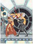 2girls angry cosmos crossover flower gadget guukan-mangaka lahwhiney lightsaber military_uniform star_wars // 600x776 // 155.1KB
