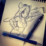 1girls gadget orionotaking screwdriver sketch // 640x640 // 124.9KB