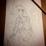 1girls belt bodysuit darkstreamstudios earring gadget robot screwdriver sketch wrench // 640x640 // 90.1KB