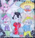chinese_clothing chip dale foxglove gadget hat kimono monterey_jack morgan_kohl pants shoes sombrero zipper // 1253x1368 // 287.1KB