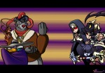 aggressive angry baloo chip crossover dale darkwing_duck darkwing_duck_(series) fight fist game jump lasso skullgirls southpawper talespin // 1914x1344 // 990.7KB
