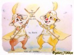 2boys armor chip dale feather helmet shinta staff // 1024x768 // 212.2KB