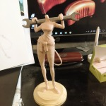 1girls claws clothes_down gadget hasaniwalker shirt statuette stuff wrench // 1944x1944 // 600.7KB