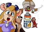cheese cheese_spirit chip dale eating flying fun gadget golly jumpjump monterey_jack shock zipper // 1058x768 // 187.8KB