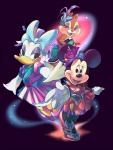 butterfly clarice daisy_duck dress minnie_mouse ribbon umintsu // 754x1000 // 620.8KB