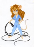 1girls audio_jack gadget neko_art plug wire // 739x1000 // 115.2KB