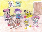 baby ball boots chip closed_eye cowboy dale diaper doll donald_duck door fun hat koopateen007 lasso lying minnie_mouse no_hat picture pluto run shoes stetson // 792x612 // 708.5KB