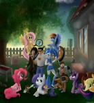 "applejack charcoal chip crmareli crossover crowbar dale embrace fluttershy flying gadget gordon_freeman gun half-life invention jar jenny_wakeman lying magnifier monterey_jack my_life_as_a_teenage_robot my_little_pony pinkie_pie plants rainbow_dash rarity sam_""serious""_stone serious_sam shovel sit tree twilight_sparkle zipper // 2000x2160 // 6.1MB"