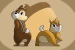 2boys acorn all_four chip dale waffurukitsune // 1200x800 // 273.4KB